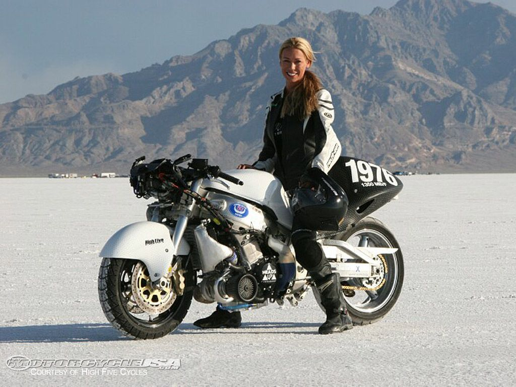 Leslie Porterfield - World Speed Record Holder  234.1 mph - ya that's right, MILES per hour!