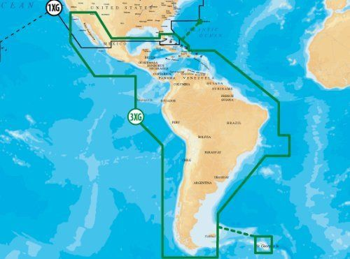 Navionics Gold Central & South America CF by Navionics
