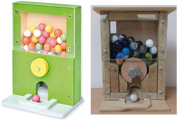 gumballmachine met beschrijving pdf en tekening tutorial diy basteln pinterest. Black Bedroom Furniture Sets. Home Design Ideas