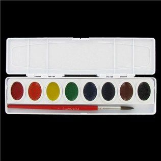 Watercolor Color Wheel Using Master S Touch Watercolors From Hobby