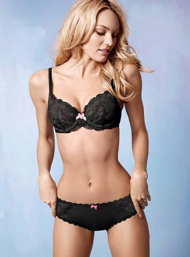 3e3720d40e Candice Swanepoel Dulce y Sexy para Victorias Secret