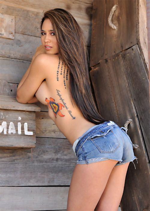 Model tight ass