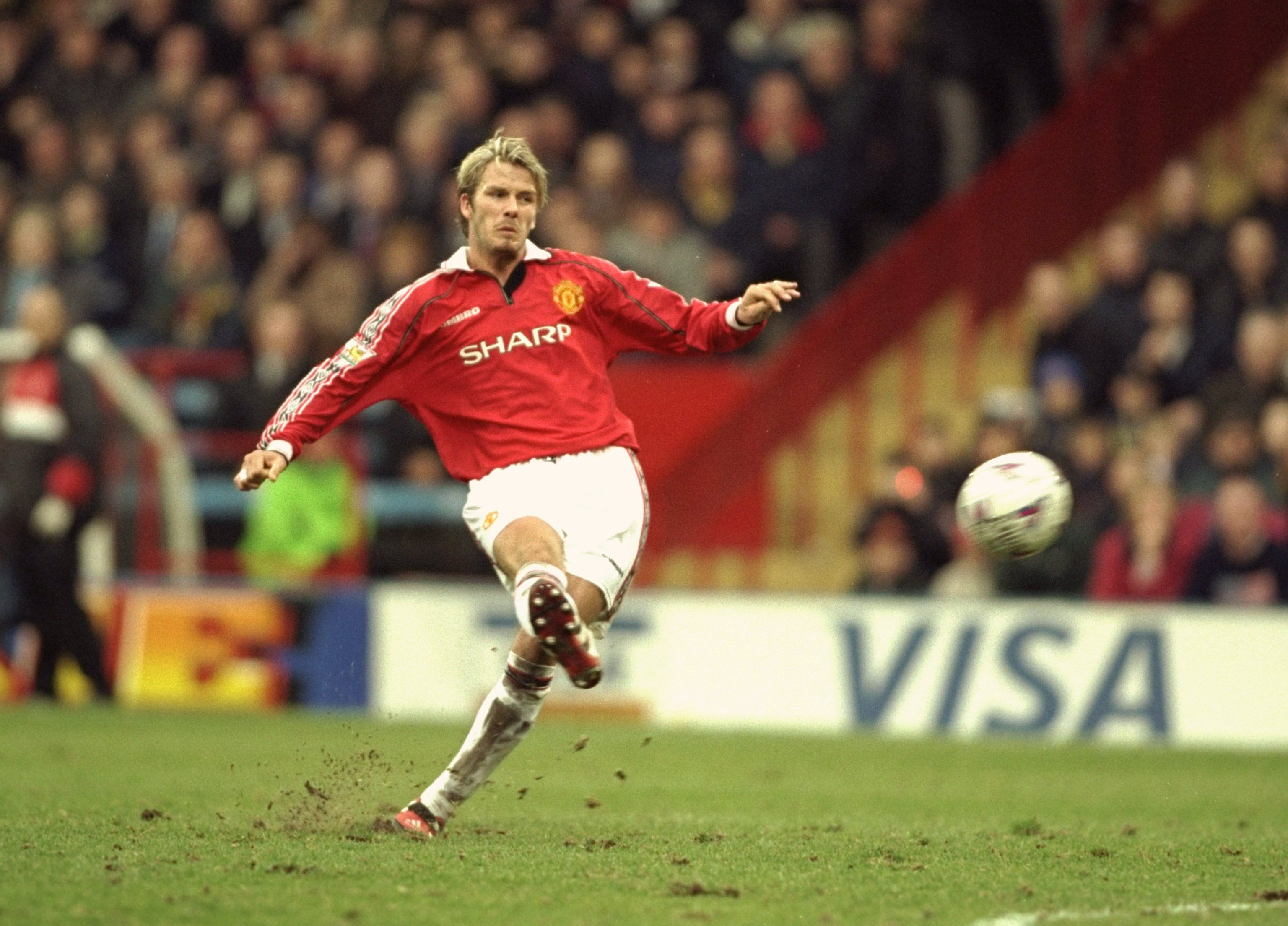 Image result for david beckham in manchester united