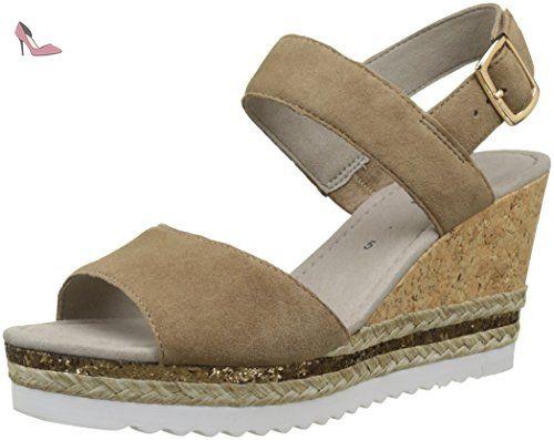 Gabor Shoes Comfort, Escarpins Femme - Marron (Walnut 43), 40 EU