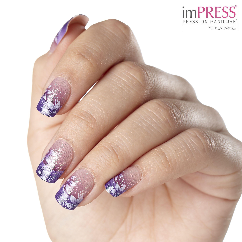 Impress press on manicure nails my style pinterest - Enjoy Impress Manicure In Starlet Impressmanicure Broadwaynails
