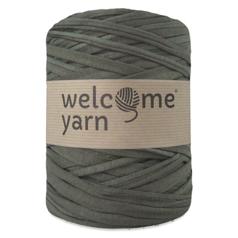 T Shirt Yarn Pas Cher Trapilho Vert Zpagetti Crochet