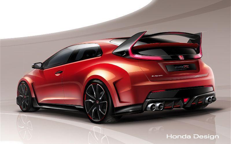 Honda Civic Type R 2015 Concept