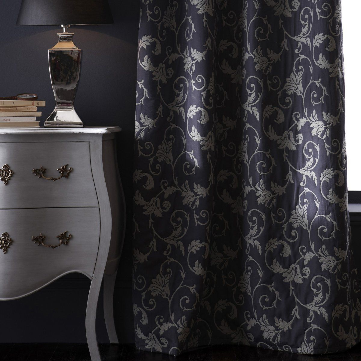 rideaux baroque baroque curtains baroque moderne. Black Bedroom Furniture Sets. Home Design Ideas