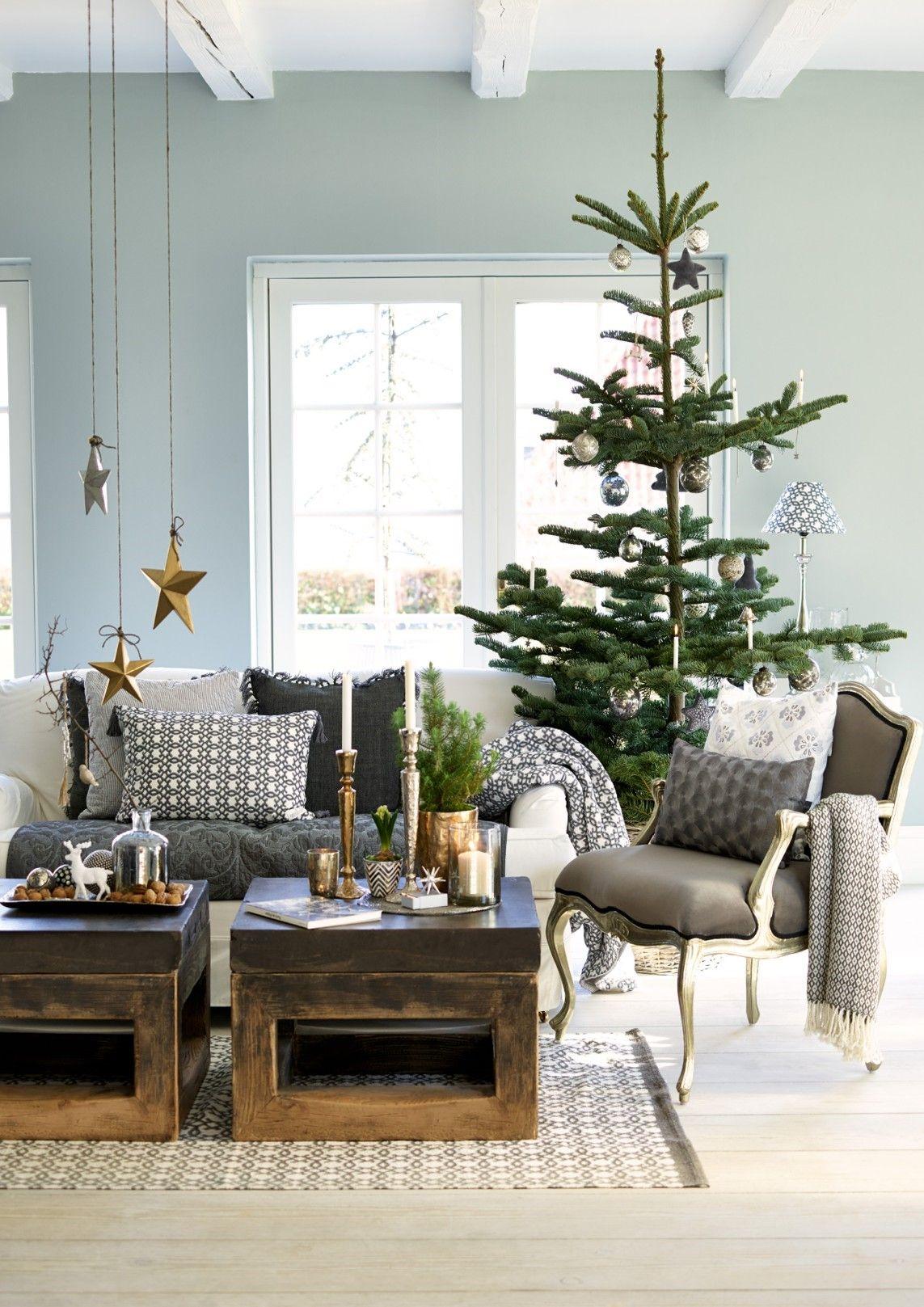Es Weihnachtet Sehr, Tannenbaum, Dekorieren, Einrichten Und Wohnen, Rund  Ums Haus, Runde, Weihnachten, Merry Christmas, Natürliche Weihnachten