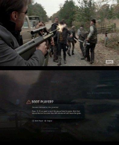 Bahaha The Walking Dead Halo Humor Walking Dead Memes Walking Dead Funny The Walking Dead