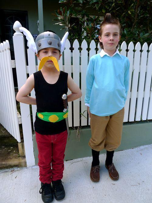 Asterix and tintin dress up pinterest d guisements costume original et deguisement enfant - Deguisement enfant original ...