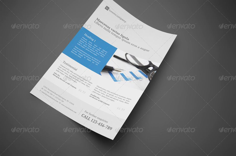 CleanProfessionalCorporateFlyer  Collateral