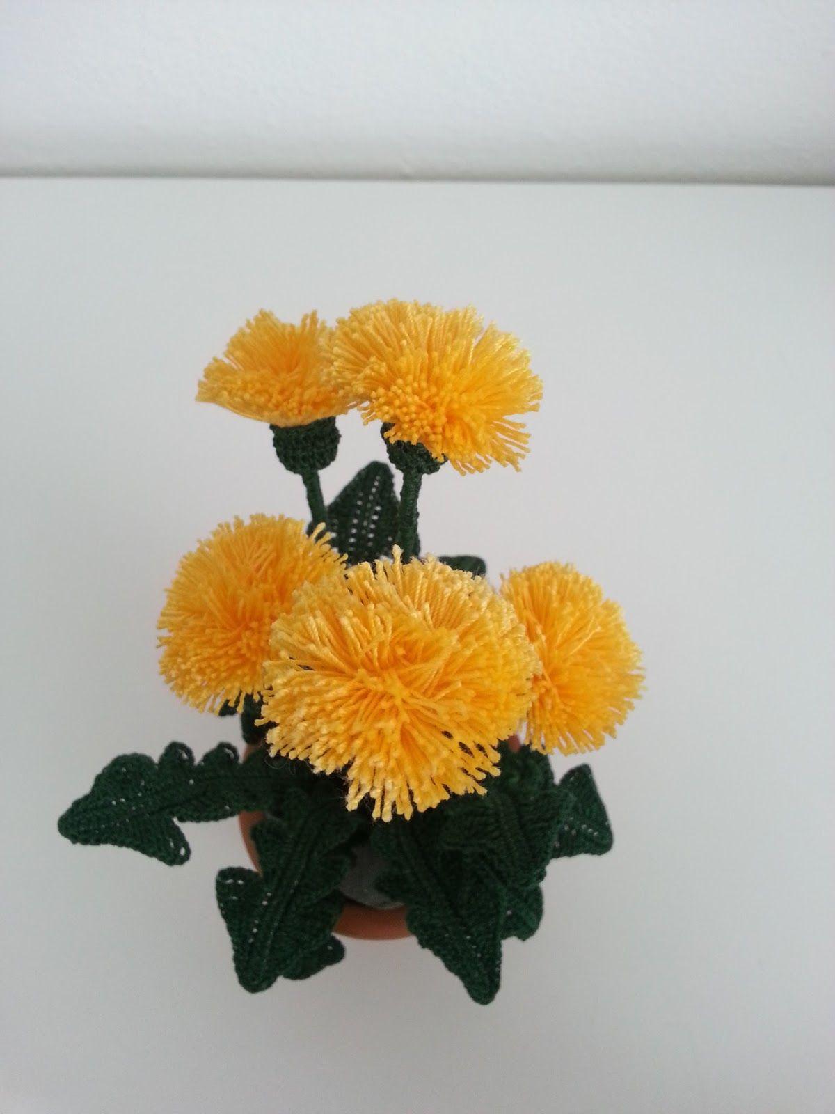 Il blog di sam spiegazione del tarassaco all 39 uncinetto for Il blog di sam piante grasse