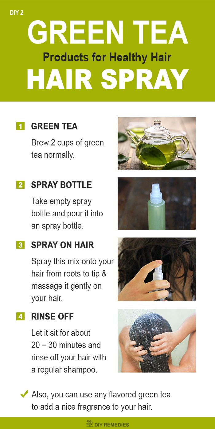 green tea hair spray for healthy hair green tea hair spray