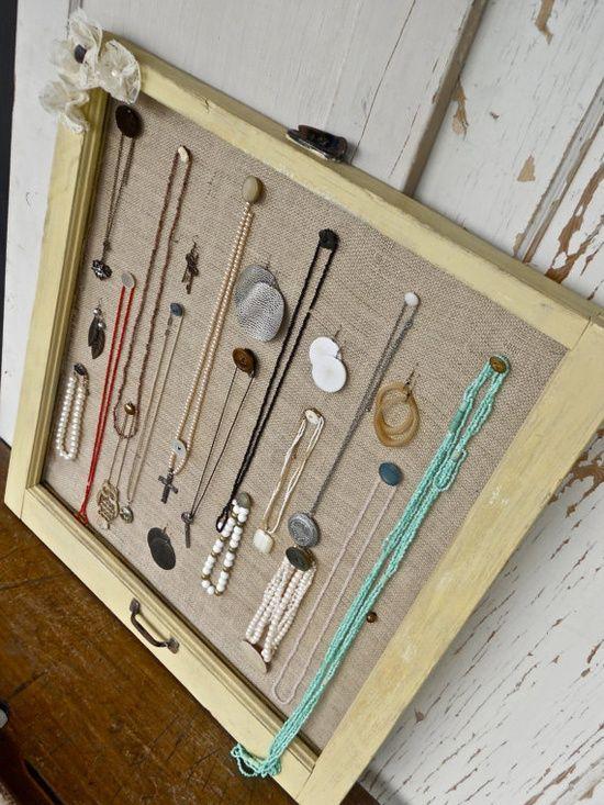 window frame jewelry organizers Jewelry Organizers things i can