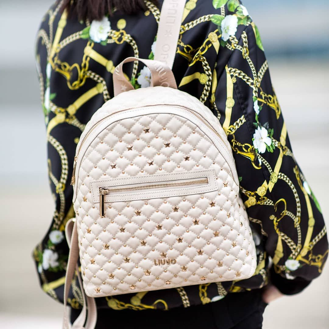 8f543bacf263 Make this #LiuJo #SS19 backpack your best outfit companion. Get yours!  #liujoss19