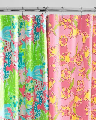 Lilly Pulitzer Sister Florals Shower Curtain Garnet Hill