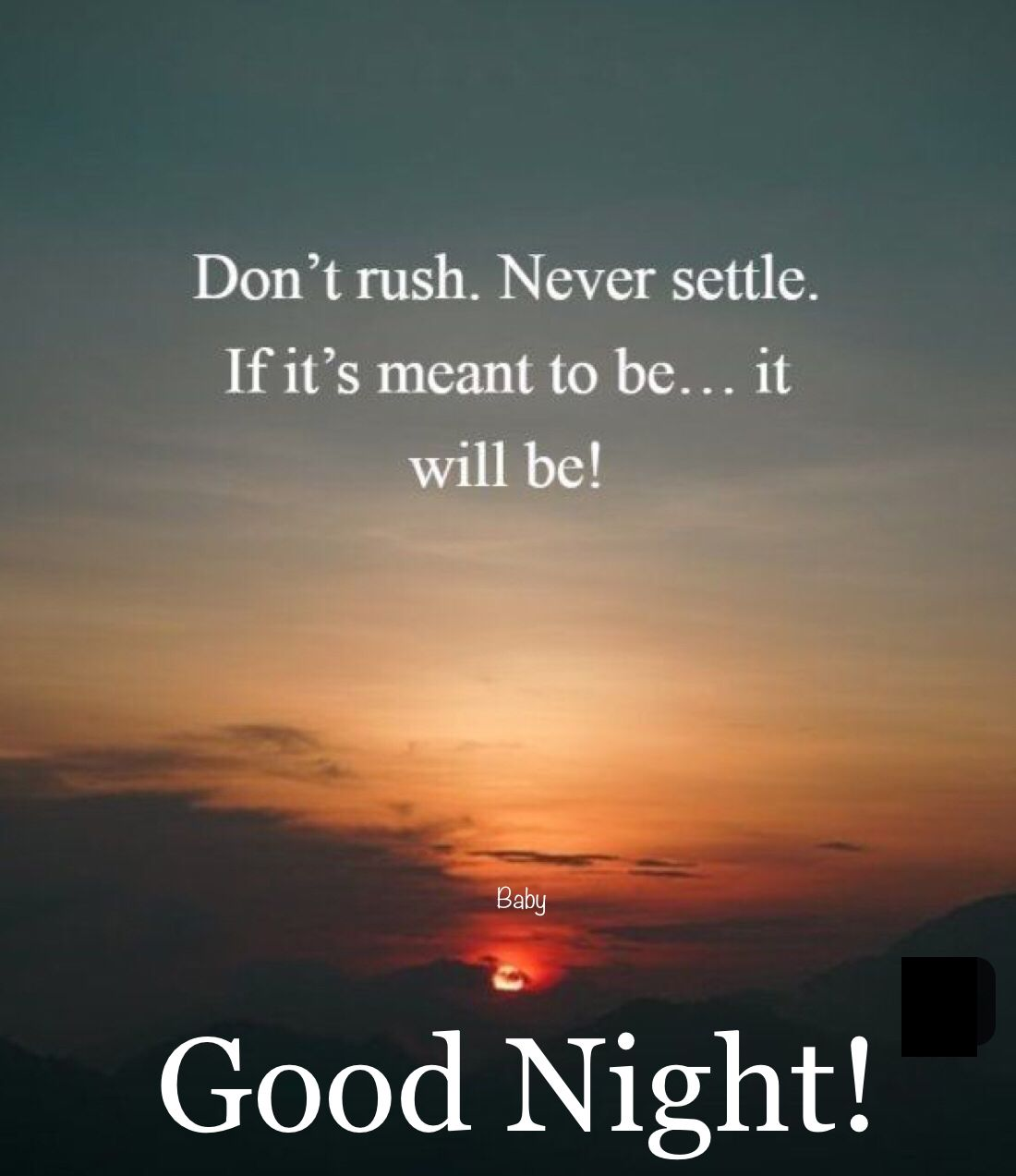 Good Night!  Positive good night quotes, Good night quotes, Good