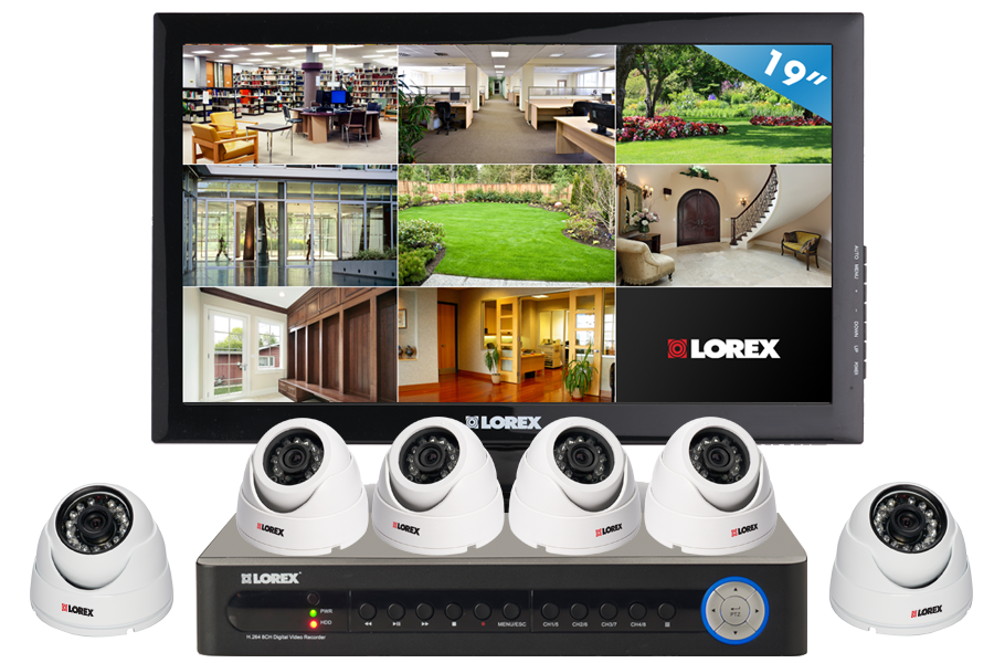 Home security camera system with night vision cameras | For the
