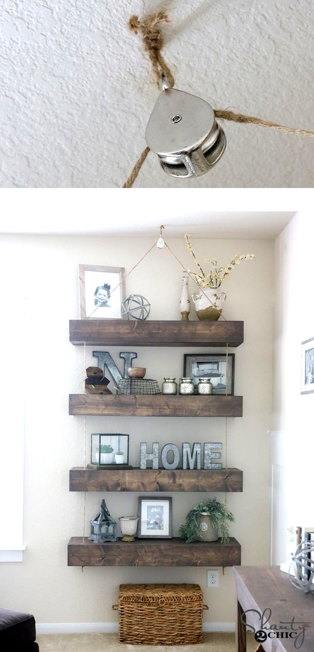 Stupendous Useful Ideas How To Make A Floating Shelf Fun How To Hang Floating Shelves Home Farmhouse Floating Shelves Office Floating Shelf Over Couc In 2020 Floating Shelf Decor Floating Shelves Grey