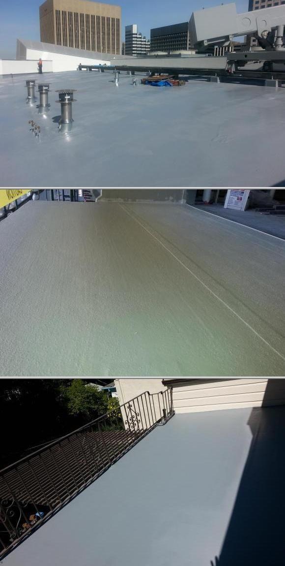 Waterproofing Services Flat Roof Repair Concrete Deck Flat Roof