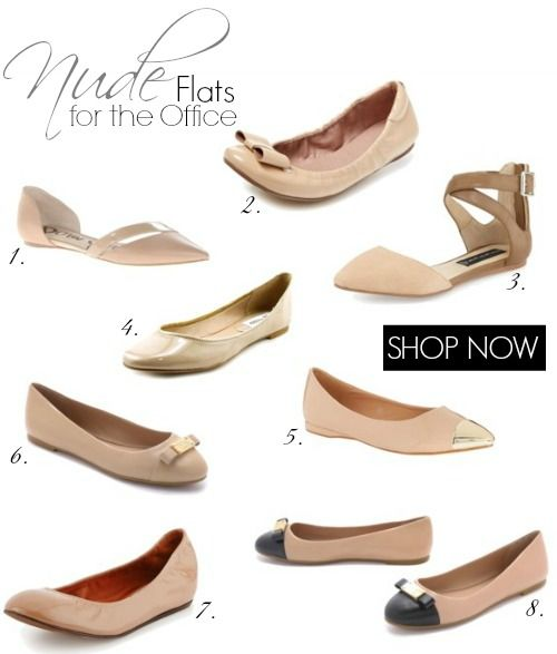 The Best Flats for the Office   Nude and Neutral Shoes for Women! is part of Work shoes women - Check out the BEST Flats for the Office with Nude and Neutral Shoes for Women! Comfortable and Cute Professional Flat Shoes for Women to wear to work!