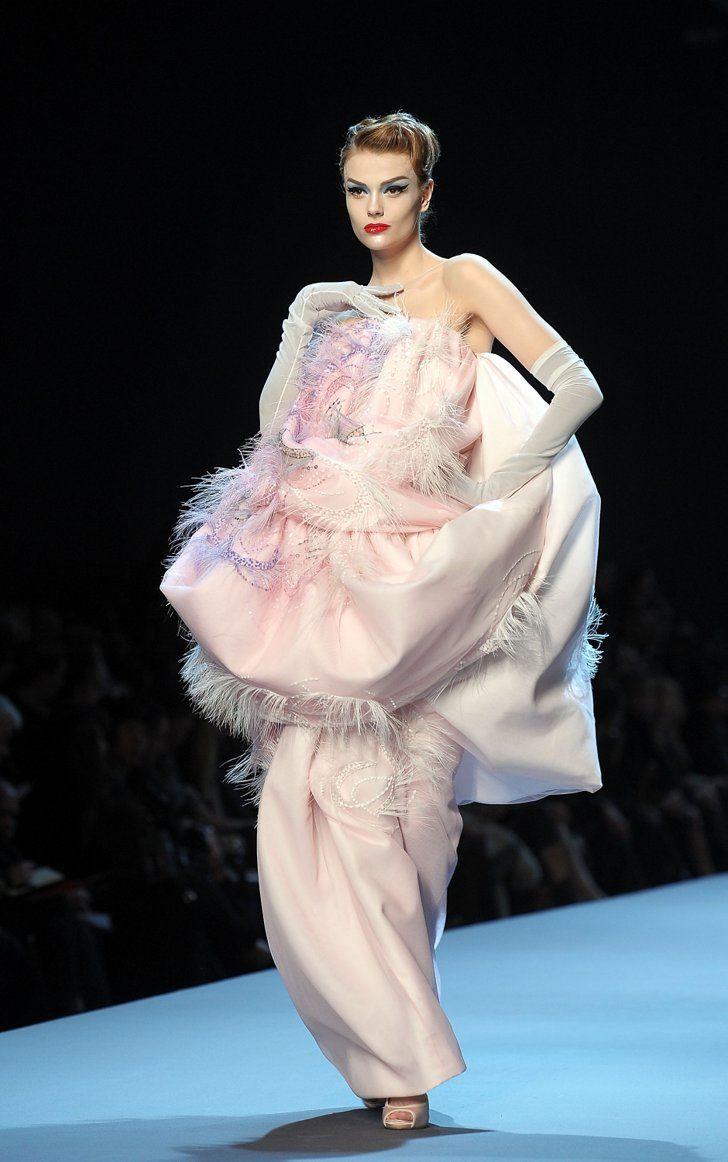 Fashion, Shopping & Style | John Galliano Takes Dior to the '50s for Spring 2011 Couture | POPSUGAR Fashion