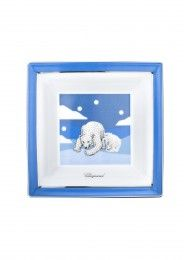 Chopard Accessories Bears pin Tray porcelain - blue with platinum plated