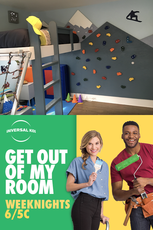 Get Out Of My Room Is The Kid S Show For Diy Home Design Each