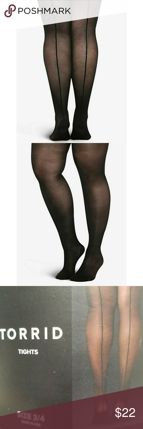 Torrid Back Seam Tights Pantyhose 3x 4x Torrid Women S Black Cuban Tights Pantyhose Burlesque Plus Size 3x 4x There S A Thin Line Betw Pantyhose Torrid Tights