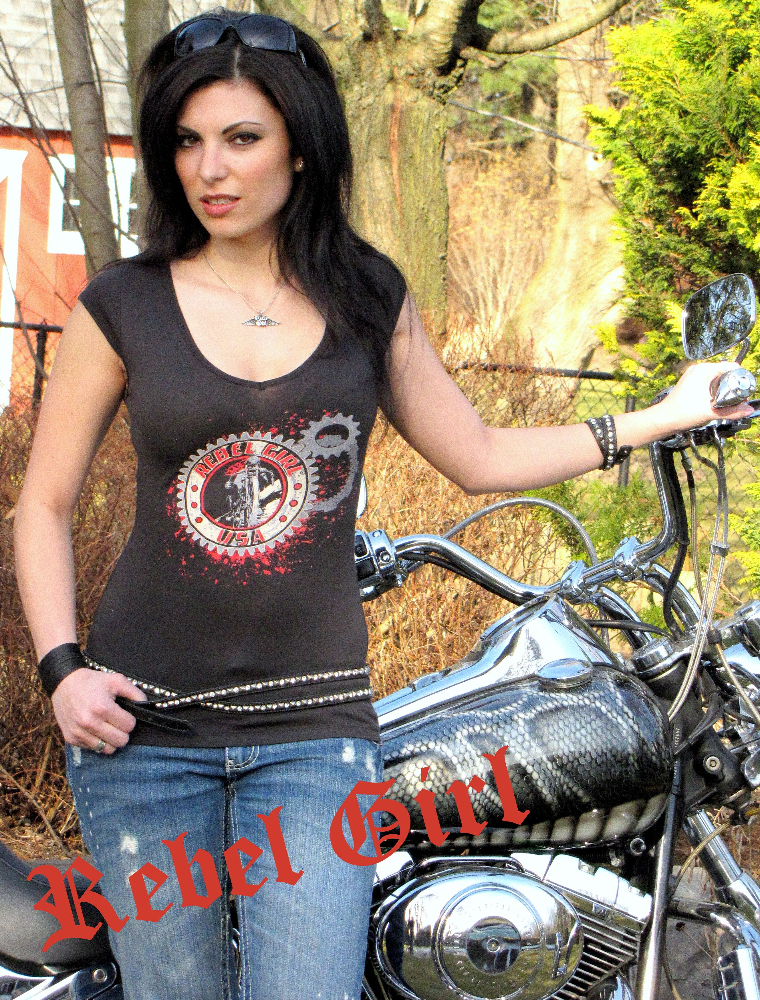 "Rebel Girl ""Gears"" #RebelGirl #womensfashion  #fashion  #style"