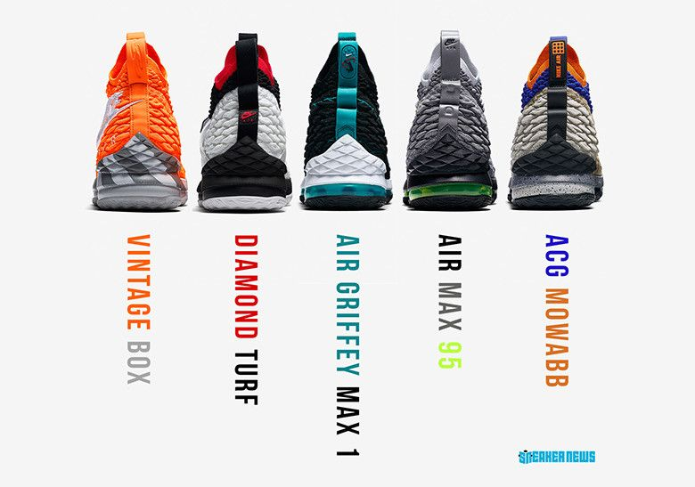 timeless design 35f7c f94c6 The Entire #LeBronWatch Collection Is Releasing At Foot ...