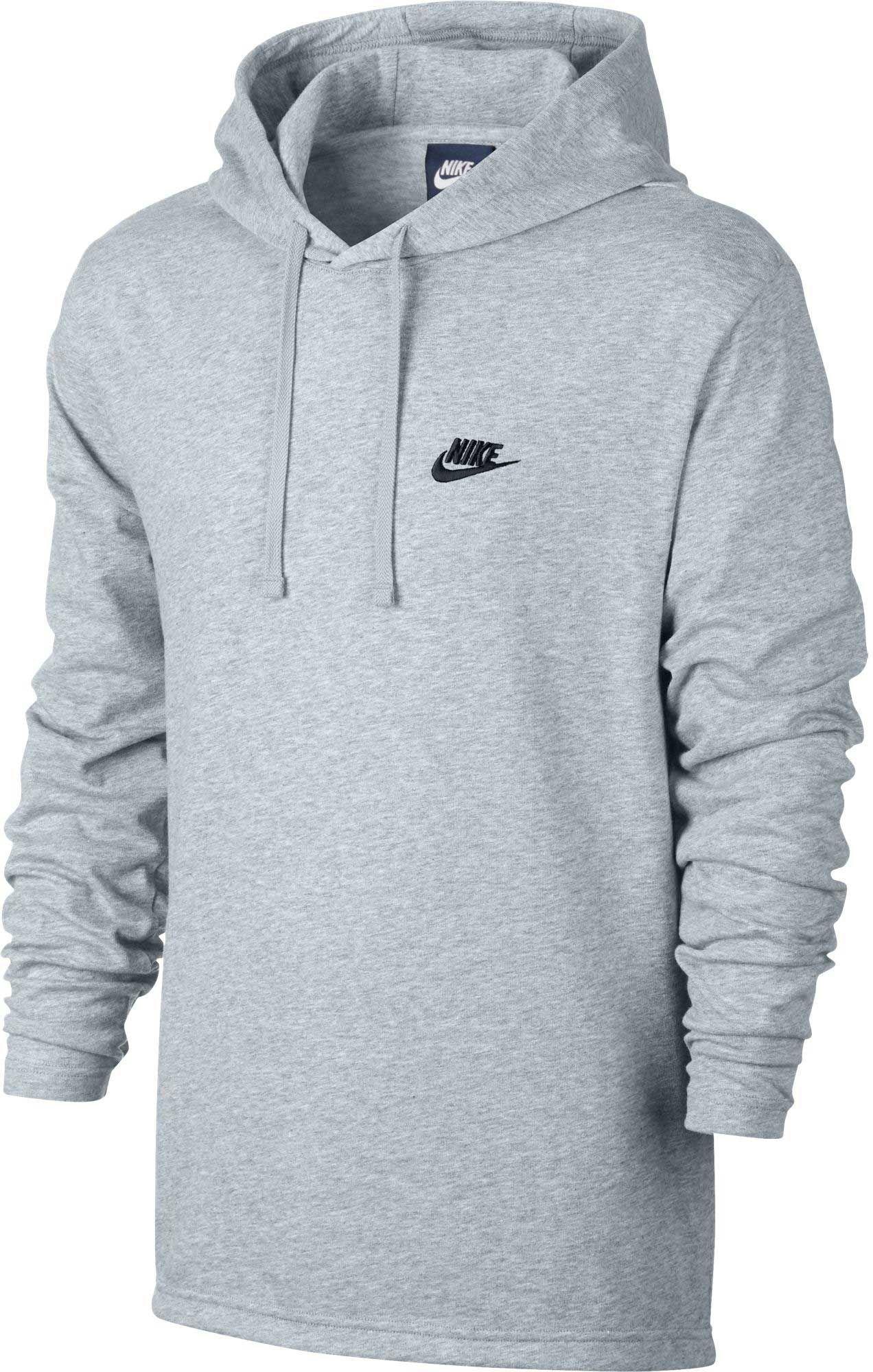 e560417df044d Nike Men's Jersey Lightweight Pullover Hoodie, Size: Medium, Birch Heather/ Black. Nike Men's Sportswear Club ...