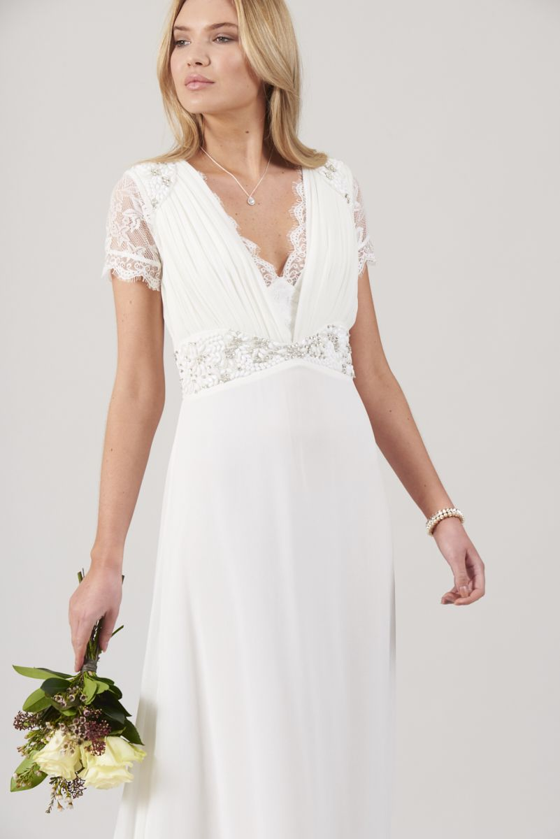 1c0026a78525022 Calliope Lace Plunge Front Maxi Dress | S/S18 Collection | Dresses ...