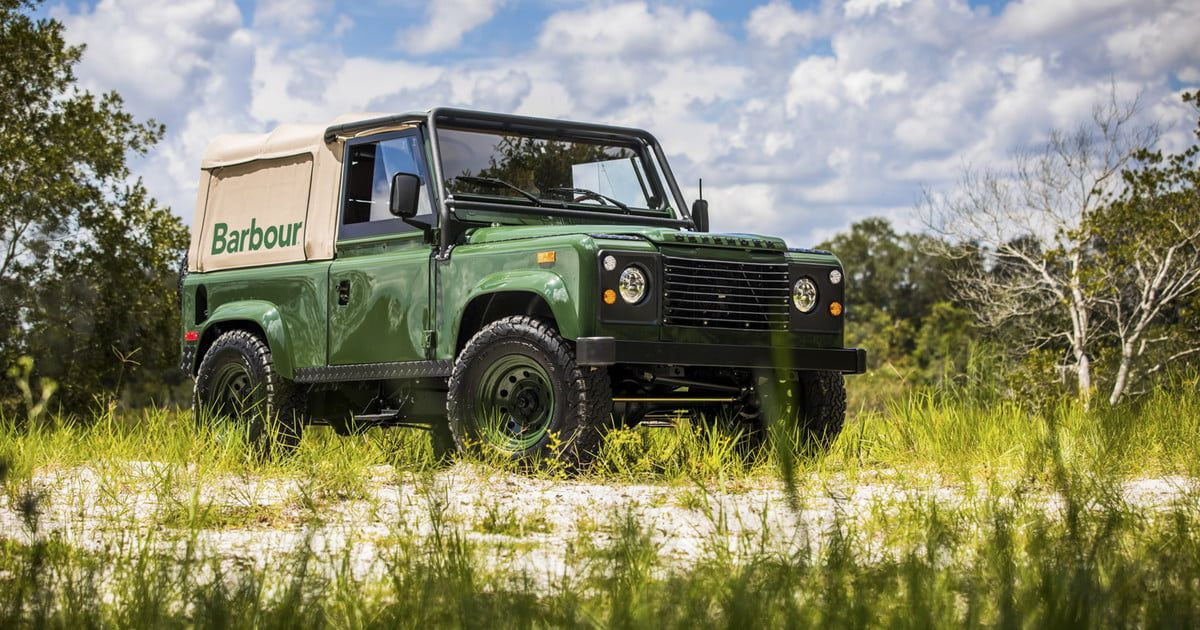 Barbour And Orvis Teamed Up For This Epic Land Rover Restoration The Manual Land Rover Defender Land Rover Barbour