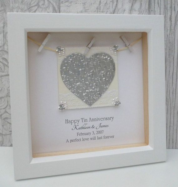 10th Anniversary Gift 10th Wedding Anniversary Gift Tin 10th Wedding Anniversary Gift 10th Wedding Anniversary 10th Anniversary Gifts
