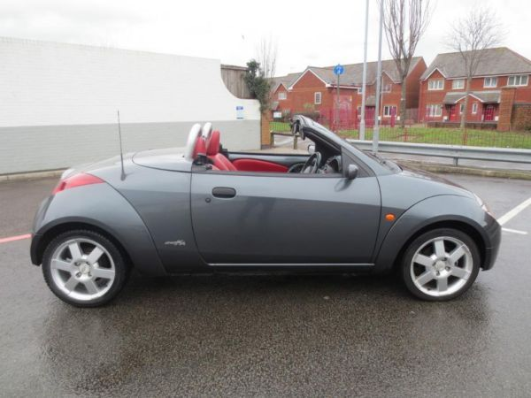 Ford Streetka Grey Soft Top Top Down Red Int Carros