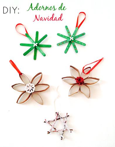 Actividad de reciclaje para hacer con los ni os adornos - Ideas adornos navidenos ...