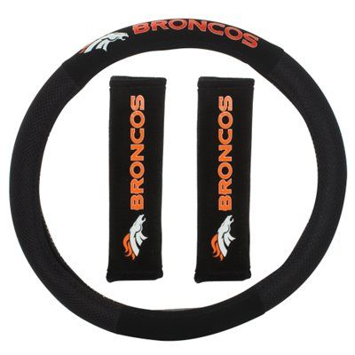 Denver Broncos 2-Piece Auto Deluxe Kit | Auto accessories, Car stuff ...