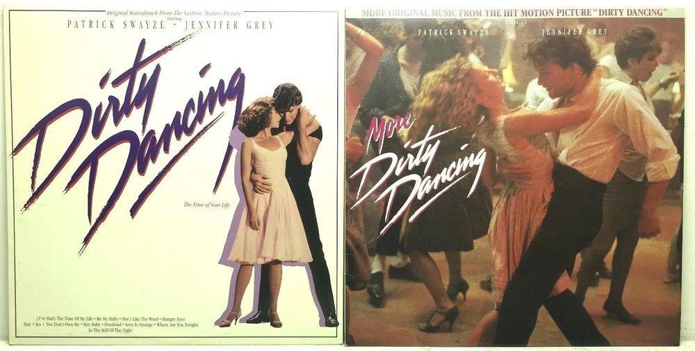 Dirty Dancing & More Dirty Dancing 6965-1-R / 6408-1-R LP Vinyl ...