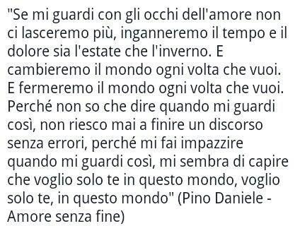 Pino daniele amore senza fine ios love quotes for Amore senza fine