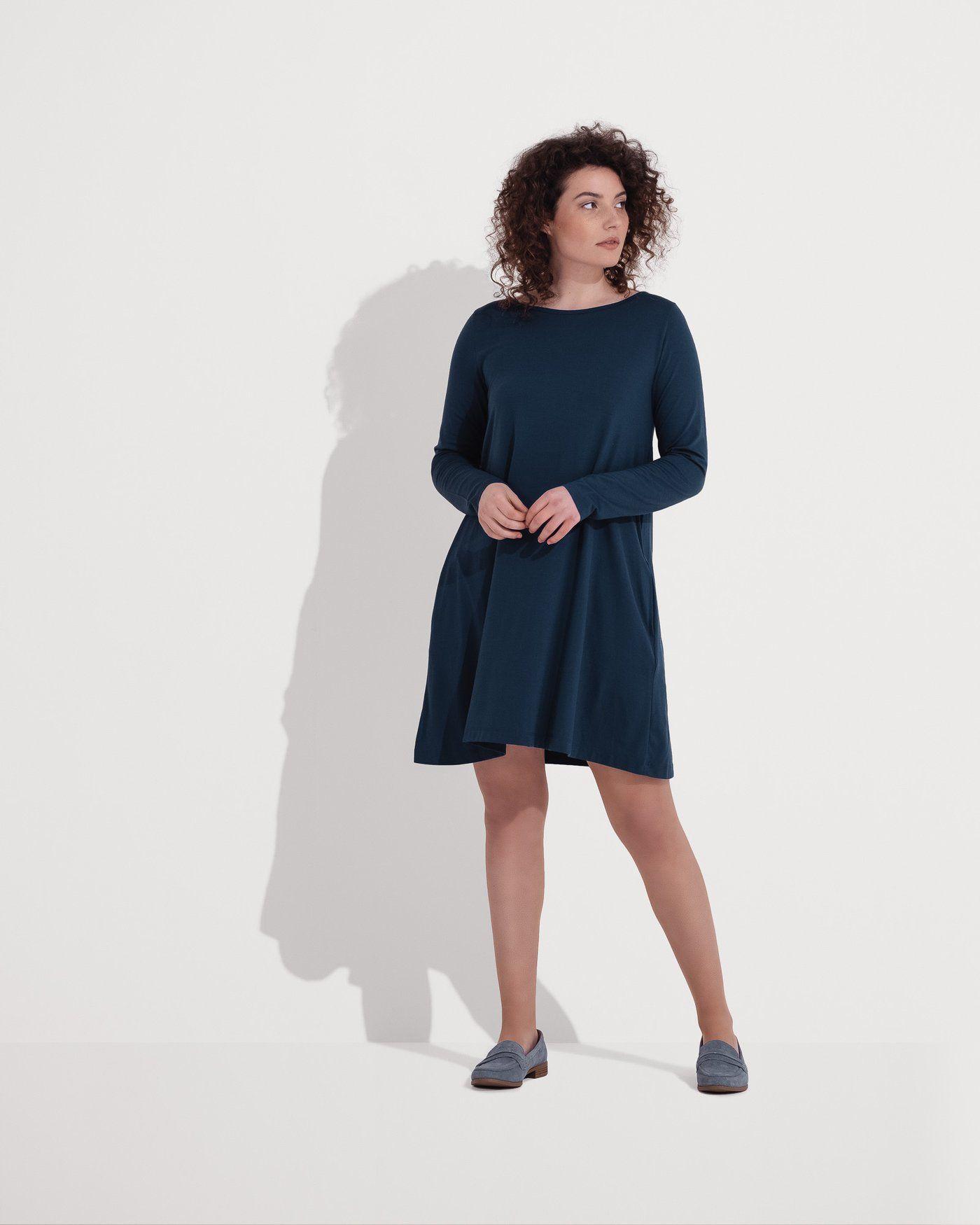 3531245b534fa rowena merino wool swing dress - wool& | My style spring in 2019 ...