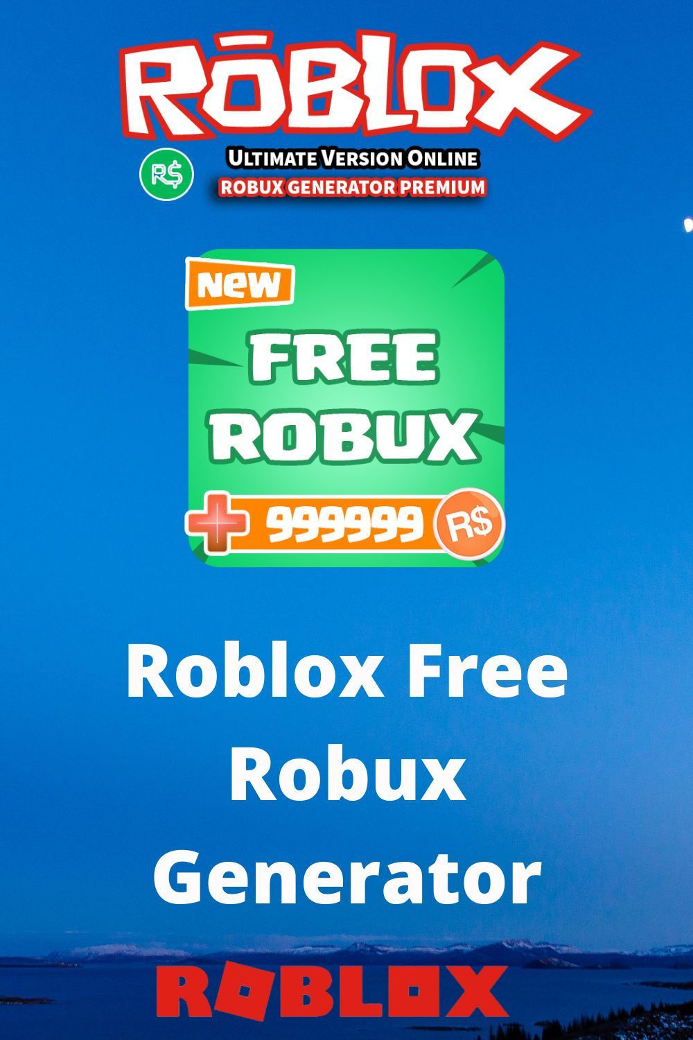 Roblox Free Robux Generator iPhone in 2020 Roblox