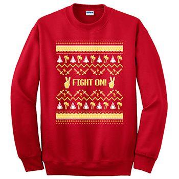 Usc Holiday Sweatshirt Sweatshirts Usc Trojans Graphic Sweatshirt