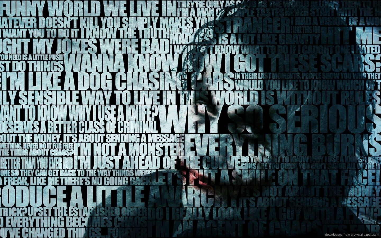 Pin By Brett Anglesey On Typography Joker Wallpapers Joker Hd Wallpaper Batman Joker Wallpaper