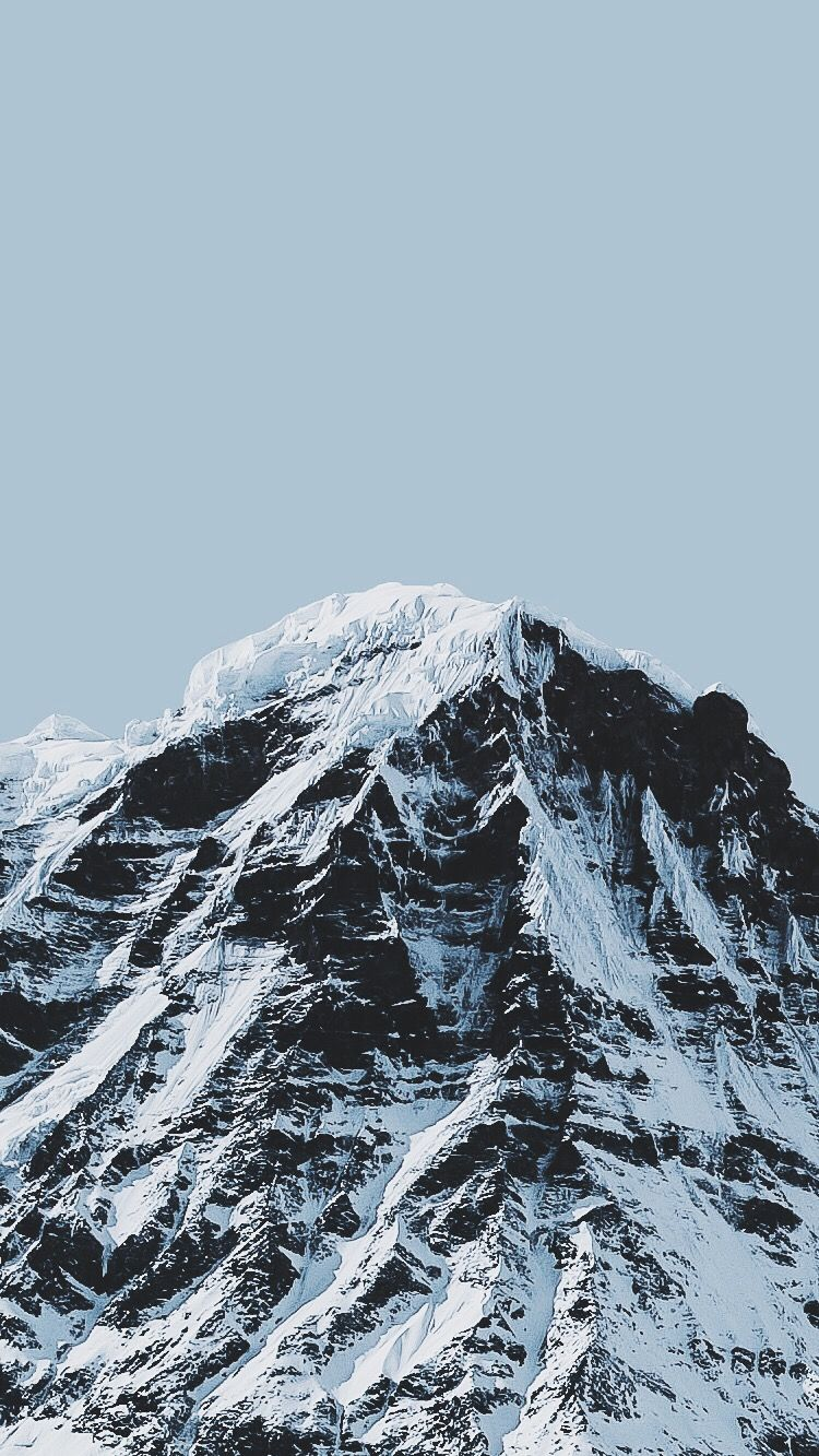 Alps-Ice-Mountains-iPhone-Wallpaper | iPhone Wallpapers in 2019 | Iphone wallpaper mountains ...