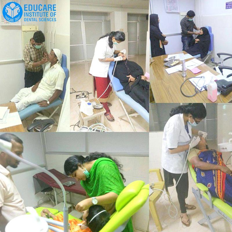 Dental Camp at Kottakal Arya Vaidhyashala on 1/10/17