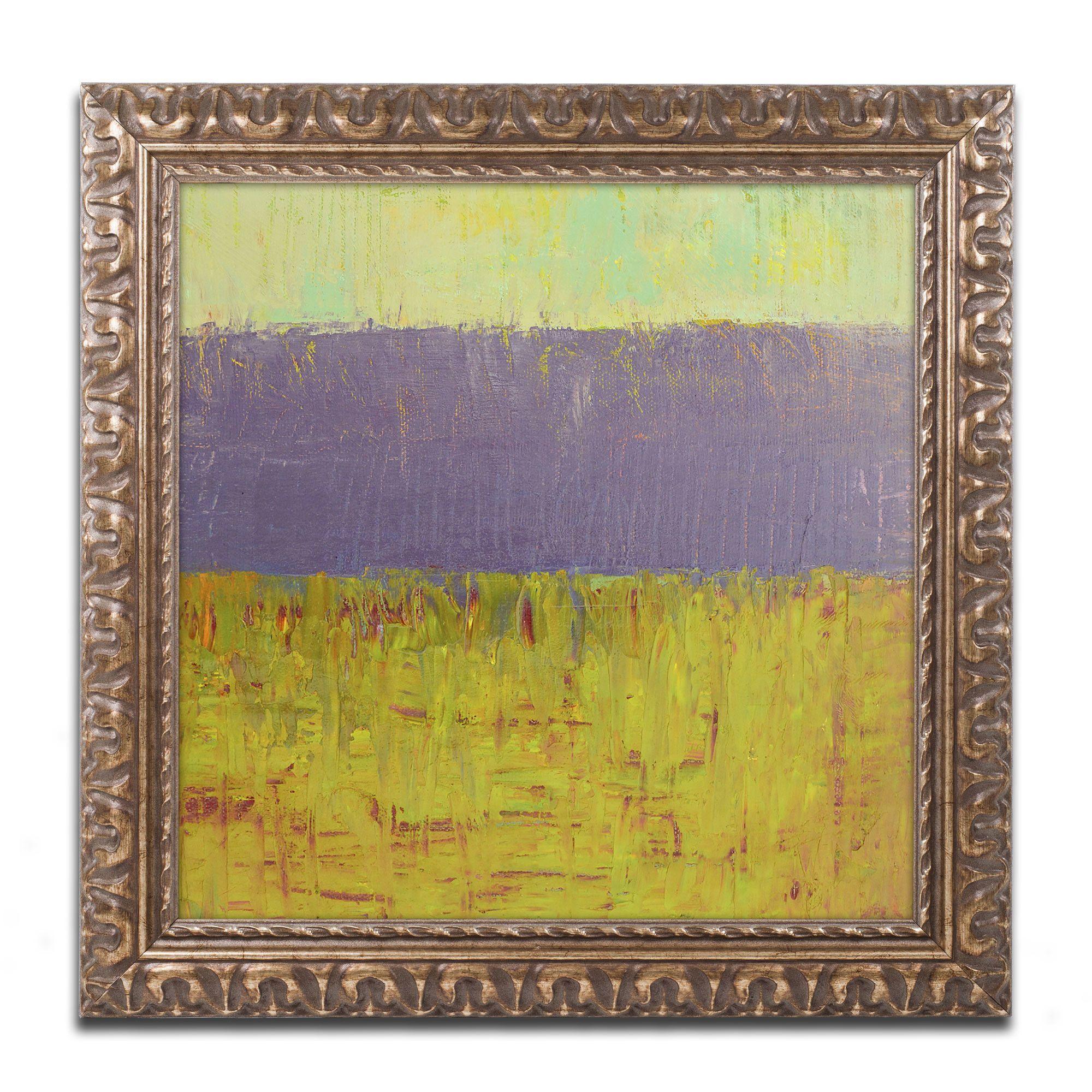 Highway Series Lake by Michelle Calkins Framed Painting Print