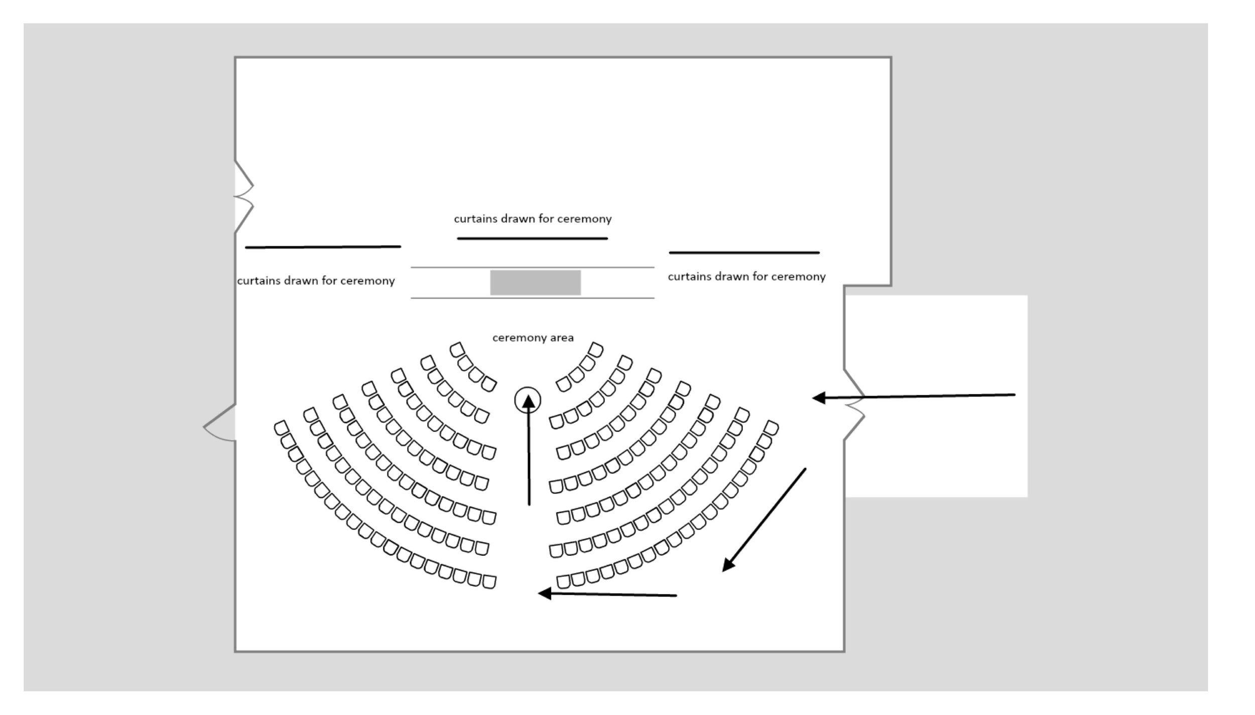 Chair setup Seating chart wedding template, Seating