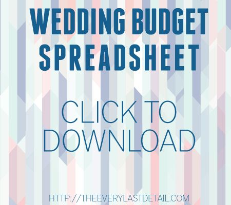 Wedding Budget 101 Wedding budget spreadsheet, Budgeting and Weddings - Download Budget Spreadsheet